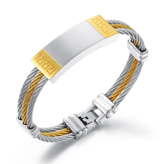 Men's Smart Design Bangle