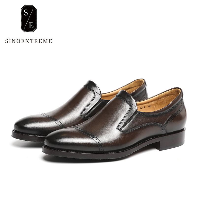 SINOEXTREME High Quality Mens Loafers Casual Fashion Men Shoes Flats Breathable Men Slip On Driving Shoes Big Size Boat Shoes spring high quality genuine leather dress shoes fashion men loafers slip on breathable driving shoes casual moccasins boat shoes