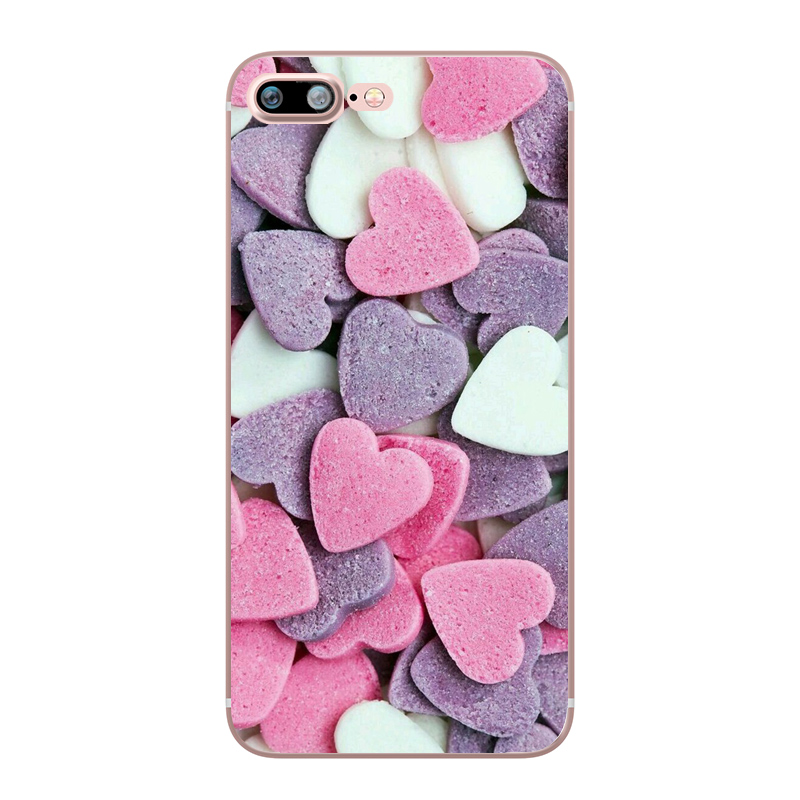 Flower Love Cherry Blossoms Rose Flowers for iphone 7 6 X 6S 8 PLUS SE 5S 7plus Silicon Clear TPU Transparent Capinha Case Funda (2)