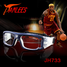 PANLEES high quality basketball prescription glasses soccer goggle prescription racquetball goggles with strong nose pad