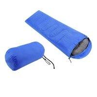 Comfortable Large Single Sleeping Bag Warm Soft Adult Waterproof Camping Hiking Lazy Bag Sleeping Beach Bed