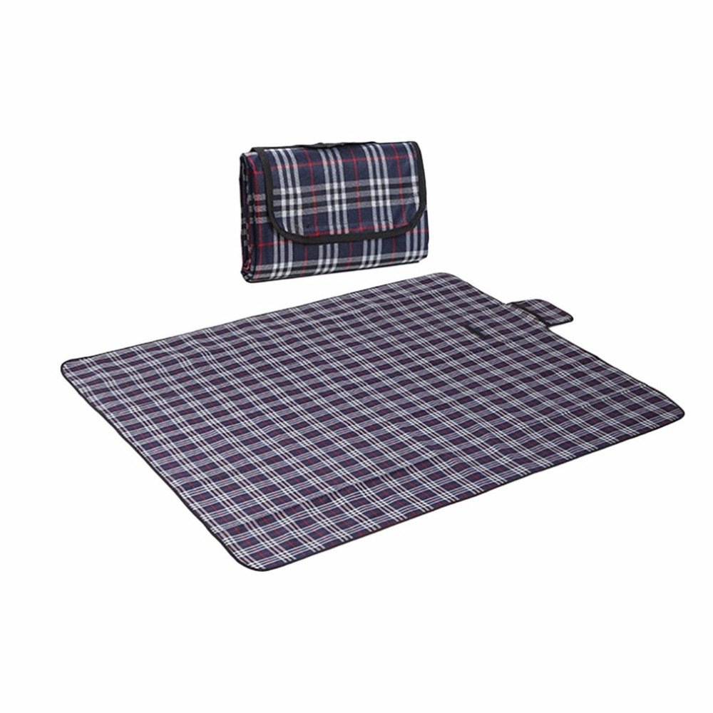 Waterproof Beach Picnic Blanket Foldable Sandproof Dampproof Large Mat For Outdoor Beach Camping Hiking Traveling