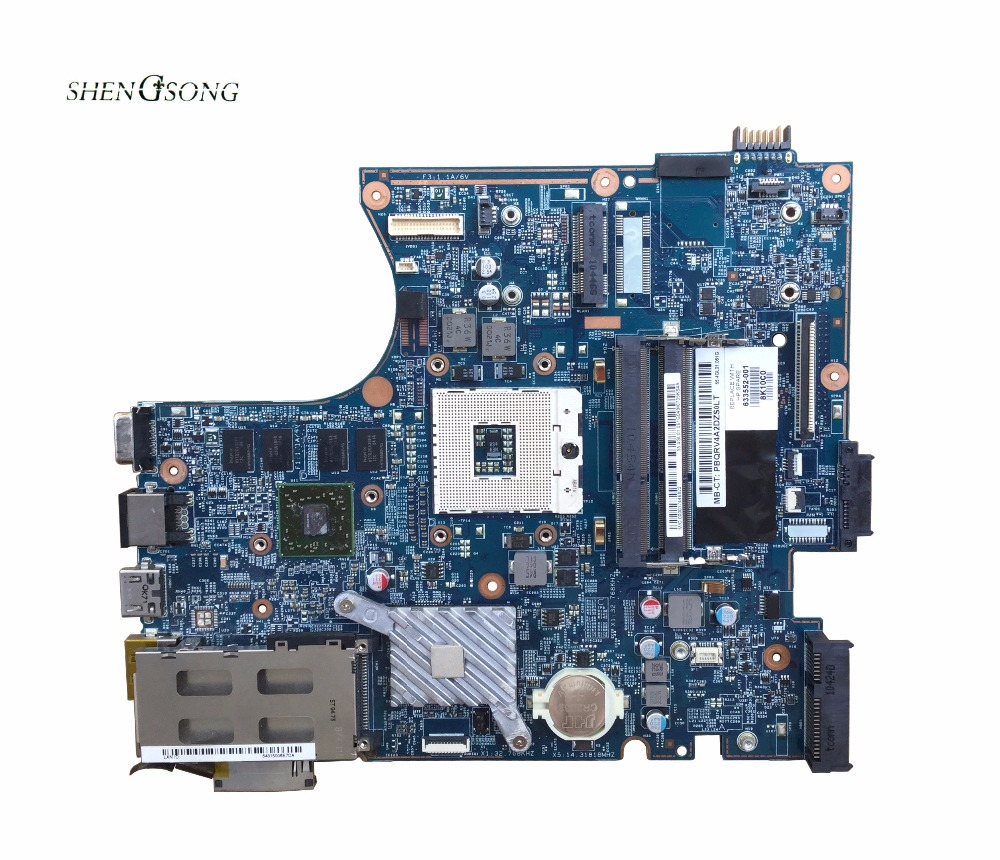 Free shipping For HP Probook 4720s 4520s Laptop Motherboard 628794-001 633552-001 HD5470