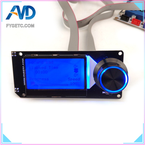 Image 3 - MINI12864 LCD Display Screen mini 12864 V1.2 LCD Smart Display 128x64 5V Support Marlin DIY SKR With SD Card For 3D Printer Part