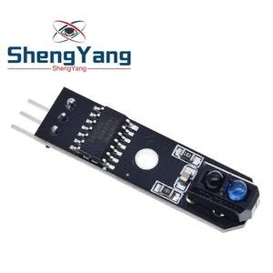 ShengYang 1 channel tracing module/ 1 way Intelligent Vehicle TCRT5000 tracker sensor probe infrared for arduino