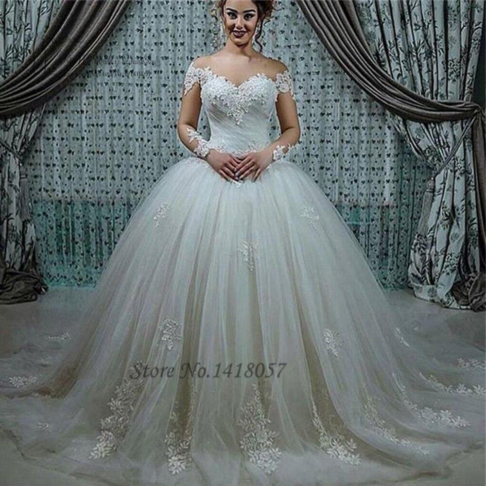 Robe de mariee dentelle turque