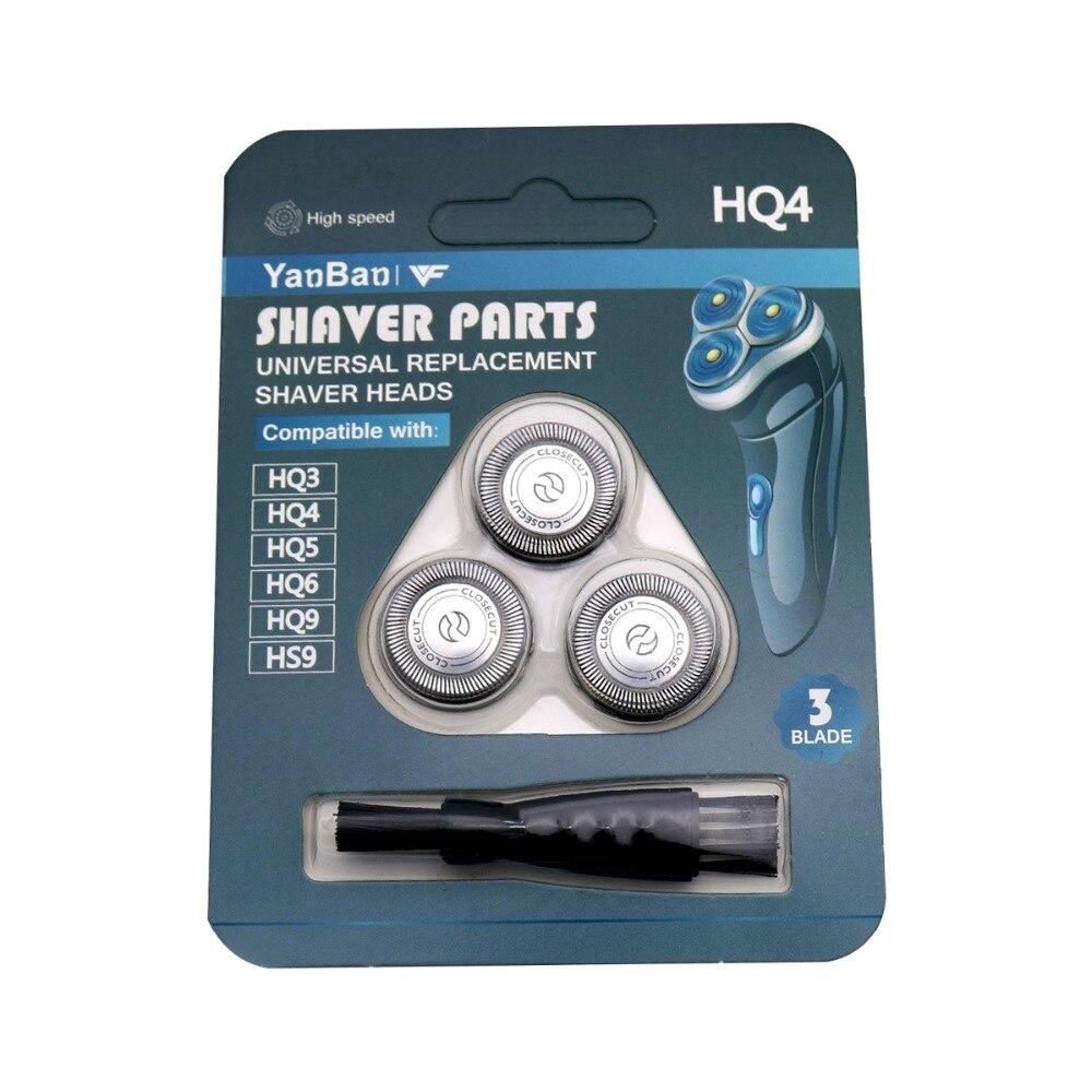 3 قطعة استبدال ماكينة حلاقة رئيس ل philips HQ56 HQ55 HQ5850 HS915 HS920 HP1328 HP1323 5810XL 5811XL HS485 HS702 HQ5865 HQ5885