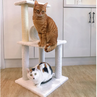 Cat полка для дома Когтеточка для кошек Мебели Кот башня поставки котенок кошек товары для домашних животных Бесплатная доставка