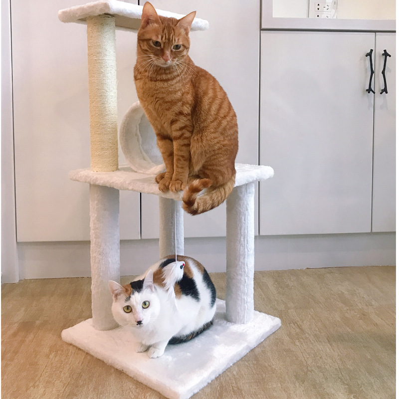 cat house shelf cat scratching post furniture cat tower supplies kitten cats products for pets free shipping