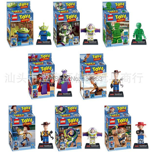 al por mayor para sets mini figuras de toy story juguetes para los nios