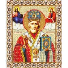 New 5D Diy Diamond Painting Cross Stitch Religion Icon of Leader Diamond Mosaic Needlework CraftsRound Diamond Embroidery