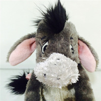 Aliexpress buy free shipping cute little prince rhinoceros free shipping 20cm eeyore gray special models donkey animal cute plush toy doll childrens gifts negle Choice Image