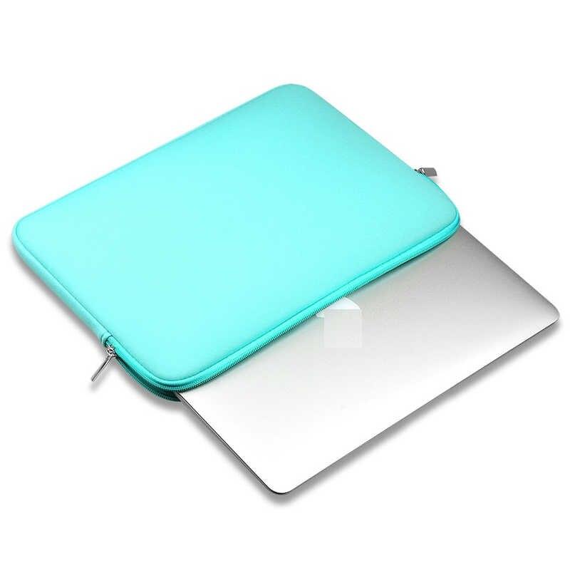 بطانة كم حالة ل apple ماك بوك اير برو الشبكية 11 12 13 15 لديل xiaomi دفتر 14 15.6 الكمبيوتر غطاء حقيبة لابتوب