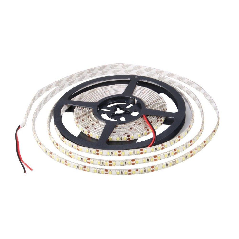 SMD 2835 120Led/m 5M 600 Led Striplight DC 12V Flexible LED Strips, Light Color White/Warm White/Blue/Red/Green/Yellow