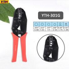 YTH 電気技師マルチケーブルストリッパー端子圧着プライヤー 1.09 〜 6.48 ミリメートル圧着ツールマルチツールプライヤー