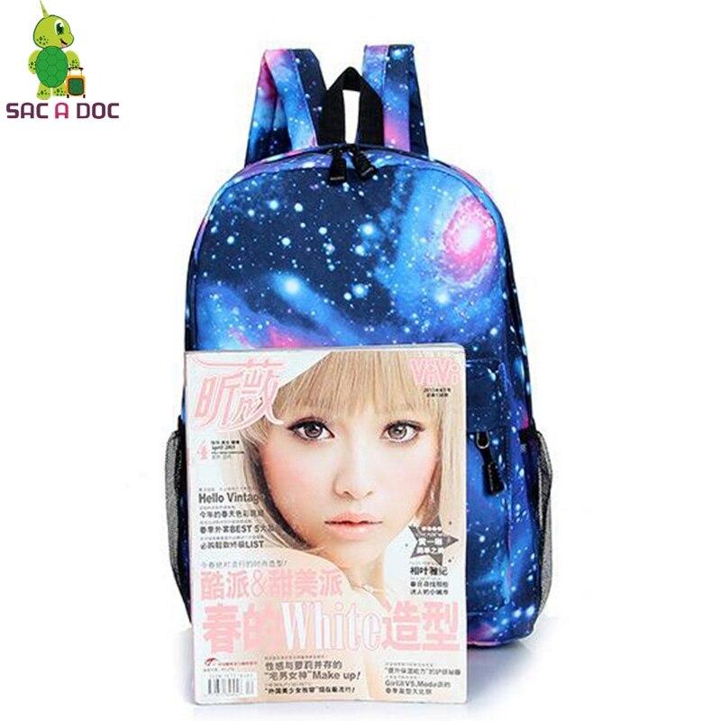 ... GhostbustersOne Punch Totoro Backpack Galaxy School Bags for Teenage  Girls Boys Students Book Bag Women Men  Childrens Ghostbusters ... 71eba4d470