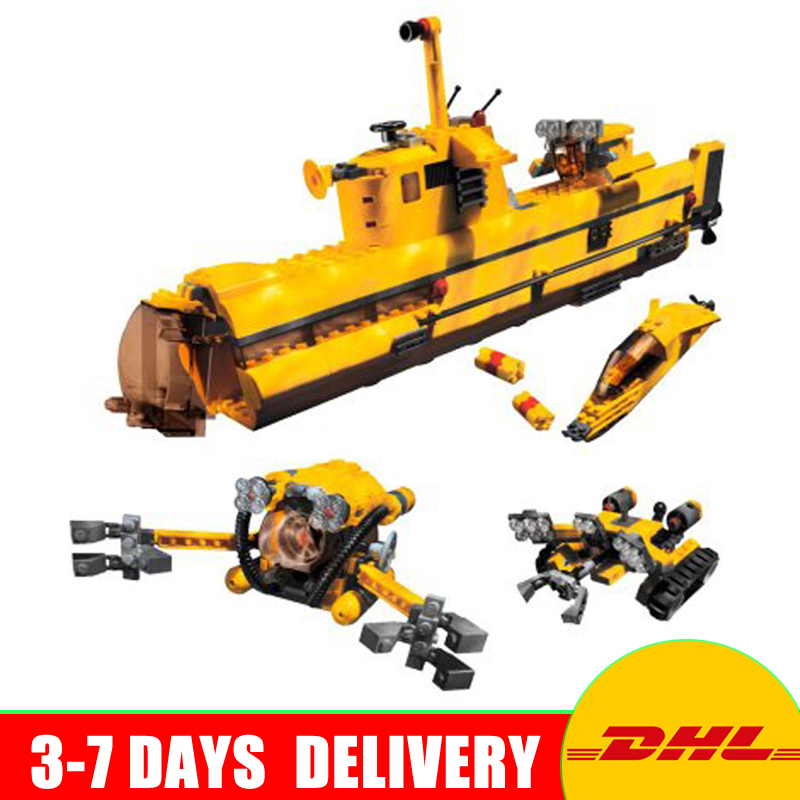 In Stock Lepin 24012 Creative The Underwater Explora Ship Set Educational Building Blocks Bricks Gift Plan Toys Compatible 4888 lepin 22002 1518pcs the maersk cargo container ship set educational building blocks bricks model toys compatible legoed 10241