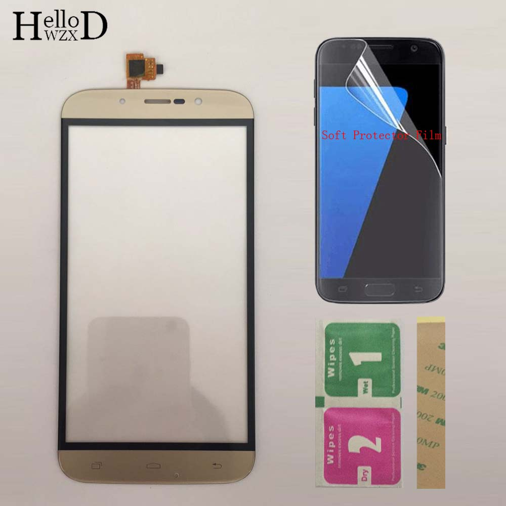 5.5'' Mobile TouchScreen Touch Screen For DEXP Ixion ES255 Fire Touch Screen Digitizer Panel Sensor Touchpad + Protector Film