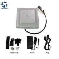865-868 Mhz 8 M UHF RFID Reader com interface de Comunicação TCP + tag grátis & SDK