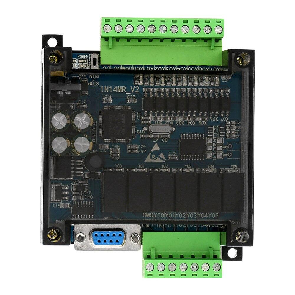 DC24V Industrielle Panneau De Commande Relais PLC Programmable Logic Controller FX1N-14MR Sortie régulateur de vitesse du moteur pwm régulateur
