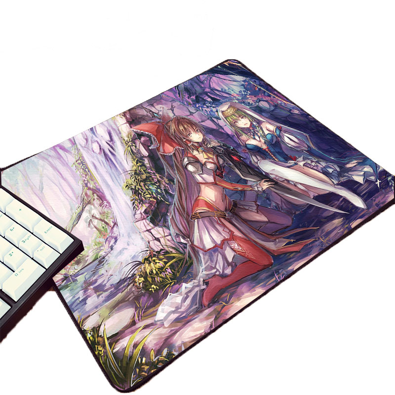 Mairuige Beautiful Witch Anime Girl Touhou Project Animation Game Rubber Mouse Pad Mini Pc Table Mat Laptop Keyboard Mousepad image