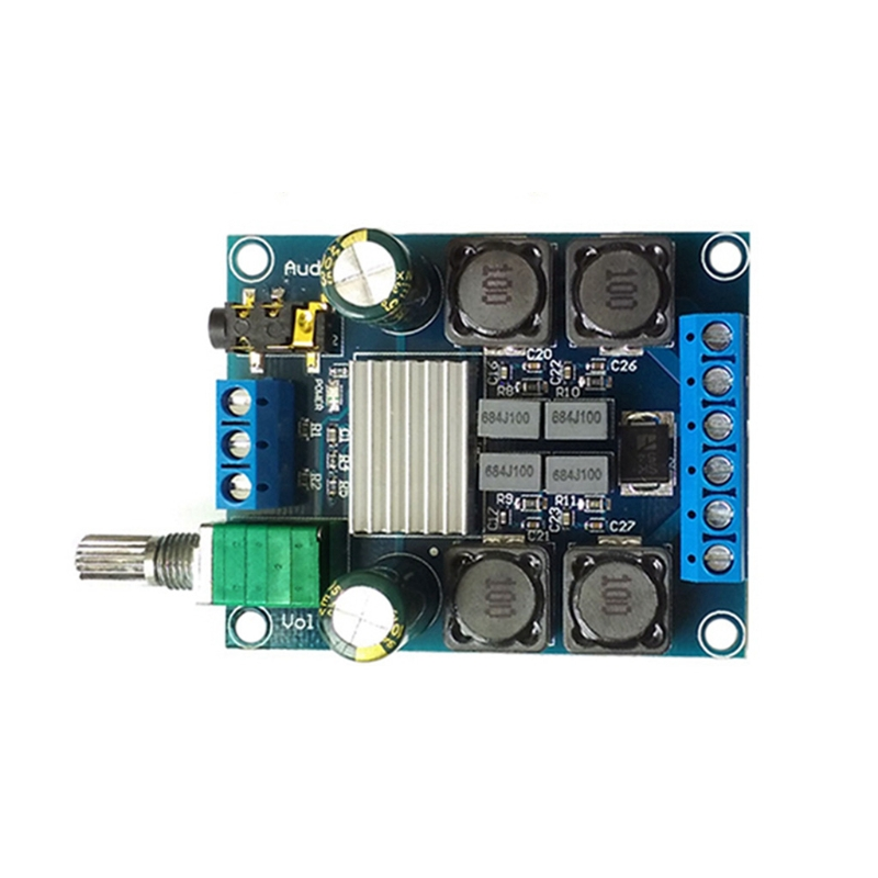 50Wx2 TPA3116 D2 Dual Channel Digital Power Amplifier Board Stereo DC4.5-27V eia uus kahe näoga jumal