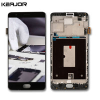 Oneplus 3 A3003 Screen With Frame Tested AAA Lcd Display Touch Screen Repair Part With Tools