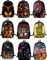Five Nights At Freddy's Bag Freddy Backpack Chica Foxy Bonnie FNAF Shoulder New Rucksack