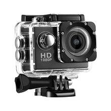 Câmera esporte dv câmera de vídeo 2 polegada completa hd 1080p 12mp 70 graus de grande angular câmara de vídeo 30m à prova dcamcorder água camcorder carro
