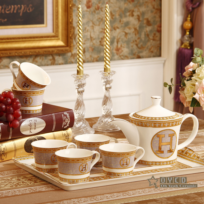 Porcelain coffee set bone china