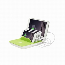Multi-function with 4USB port wireless charger universal charger US Plug