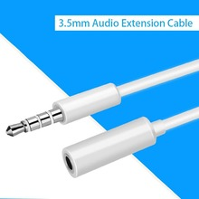 Headphone Extension Cable 3.5mm Jack Male to Female Aux Cable 3.5 mm Audio Extender Cord For Computer iPhone Amplifier