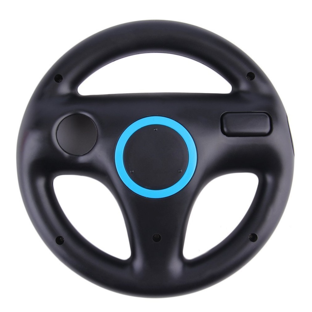 Game Racing Steering Wheel for Nintendo Wii Kart Remote Controller image