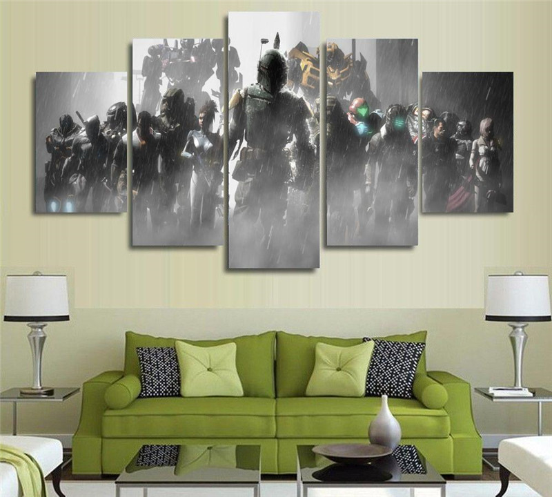 Canvas Painting Wall Art Picture prints Halo Dead Space Crysis Mass ...