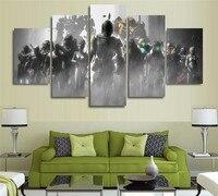 Pintura de la lona imagen del arte de la pared del halo Dead Space Crysis efecto de masa en lienzo pintura de pared decoración del hogar no marco