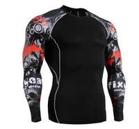 2017 Nefes Hızlı Kuru Erkekler Ince Yoga Kısa T Gömlek Elastik Koşu T-Shirt Eğitim Fitness Giysi Bisiklet Gömlek Tops S/XXL