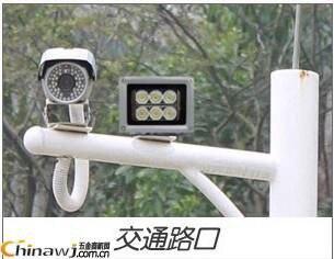 15 pièces IR LED CCTV LED S IR illuminateur infrarouge 850nm vision nocturne AC 220 V IP65 métal étanche pour caméra de surveillance CCTV - 5