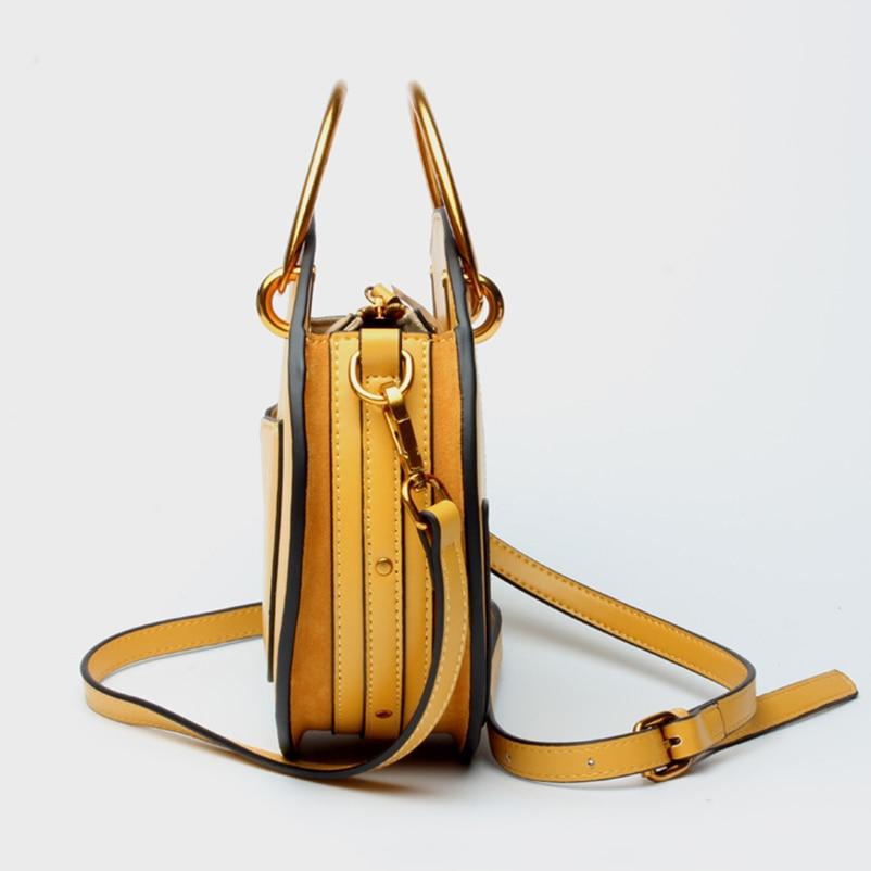Nevenka Geniune Leather Shoulder Bag Female Round Bag Girls Circle Crossbody Bag for Women 201803