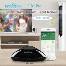 2017 Broadlink RM03 RM PRO Universel Intelligent À Distance Contrôleur Smart Domotique WiFi + IR + RF Commutateur Via IOS Android Téléphone