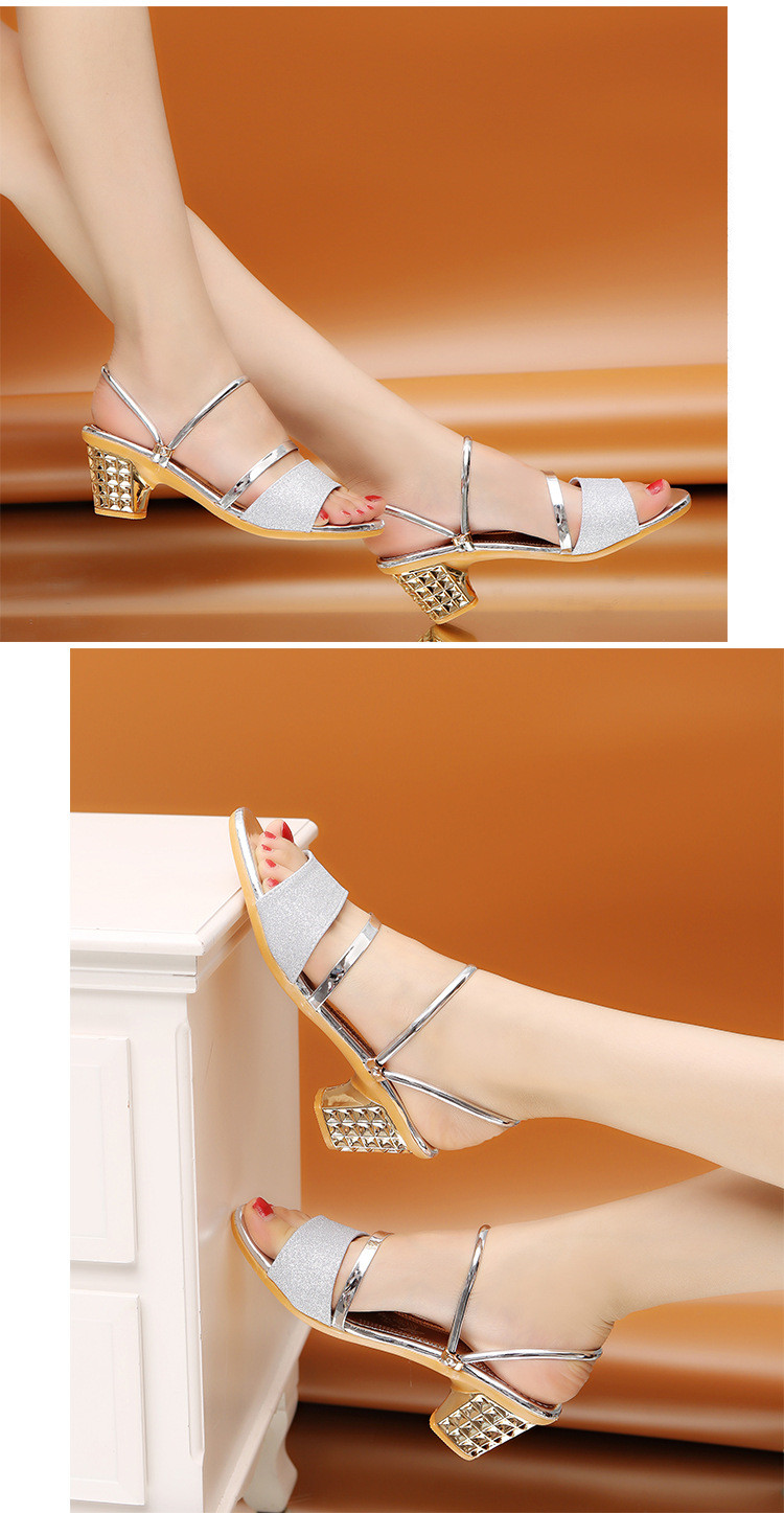 HTB15gZWaLvsK1RjSspdq6AZepXau Woman Sandals Shoes Slippers 2019 Summer Style Wedges Pumps High Heels Slip On Bling Fashion Gladiator Shoes Women