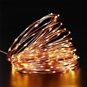 Image 3 - 72ft 22M 200 LED Solar Strip Light Home Garden Copper Wire Light String Fairy Outdoor Solar Powered Christmas Party Decor