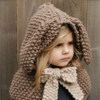 Fashion autumn and winter children's knit solid color Unique woolen baby hat girl Boys hat child Baby Knit Sweater mz2