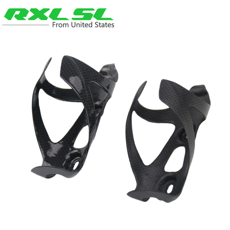 Carbon Bottle Cage MTB/Road Bicycle Water Bottle C...