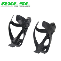 No Logo Bicycle Bottle Cage Holer Black Carbon Bottle Cage Matte/Glossy Cycling Mtb Bike Water Cages 2 PCS Bottle Holder