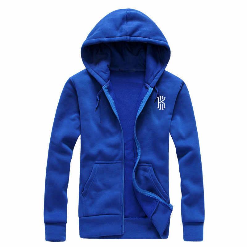 d95b140d ... 2017 BAIJOE New Fashion Kyrie Irving Print Mens Hoodies Sweatshirts Hip  Hop Hoodie Black Jacket Men ...