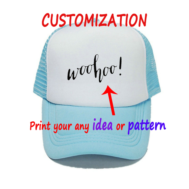 6cc03e4a2a0 Spring Summer Customized Cap Hat With Your Ideas Or Patterns Adult Child  Woohoo Weekend Cash Rules Everything Snapback Hat YY443