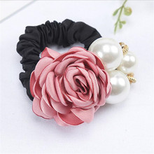 Style Big Rose Flower Pearl