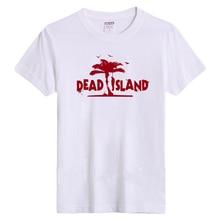 T-shirt 2017 women Dead Island t-shirt Männer Spiel Spieler Kurzarm Weiß Schwarz EU größe Baumwolle Gedruckt Casual T-shirt Homme