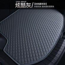 цена на Myfmat custom trunk mats car Cargo Liners pad for Cadillac CTS CT6 SRX Escalade SLS ATSL XTS XT5 black grey cream coffee comfort