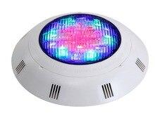 IP68 led dưới nước AC12V 24 W chất lượng cao miễn phí vận chuyển RGB hồ bơi ánh sáng Bơi đài phun nước hồ bơi ánh sáng